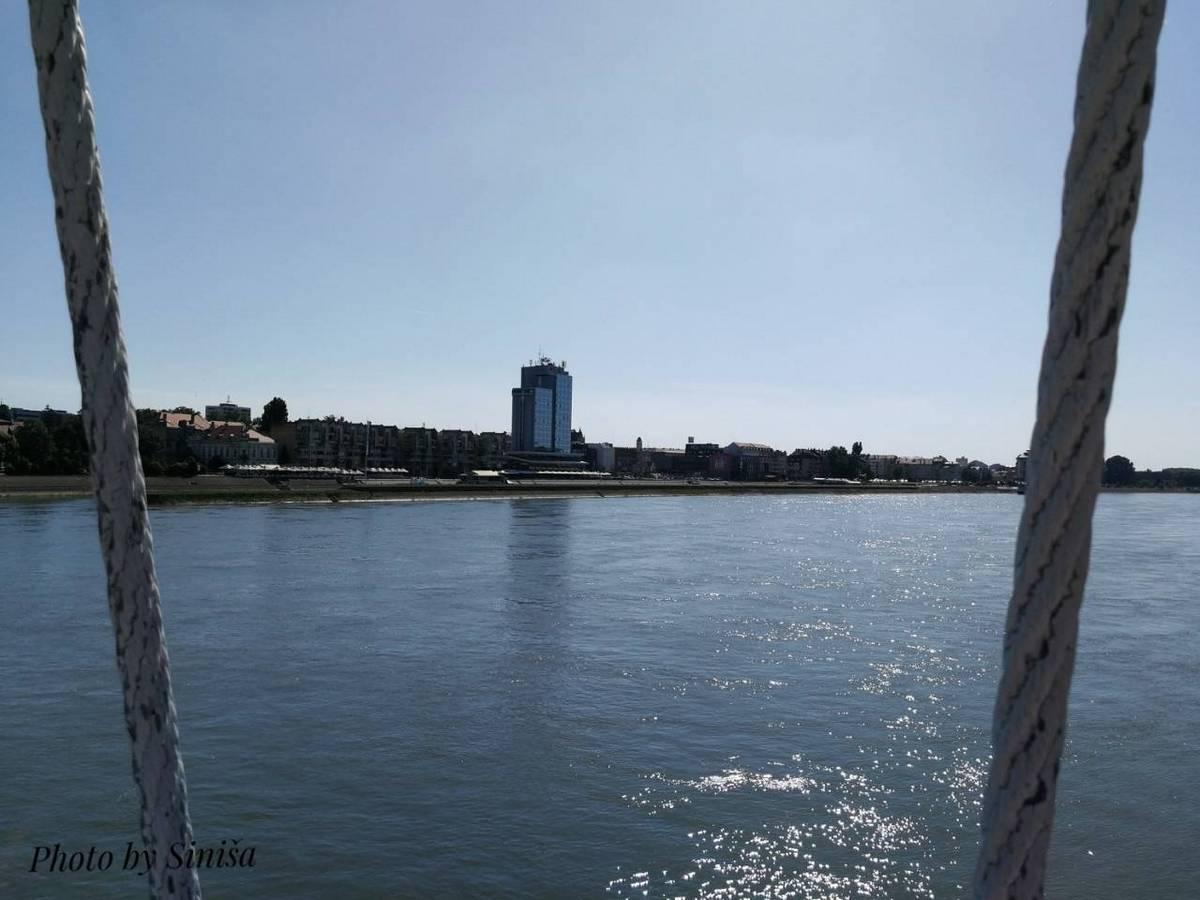 Pogled na grad  Foto: Siniša Vraneš  Ključne riječi: Most Drava Pogled