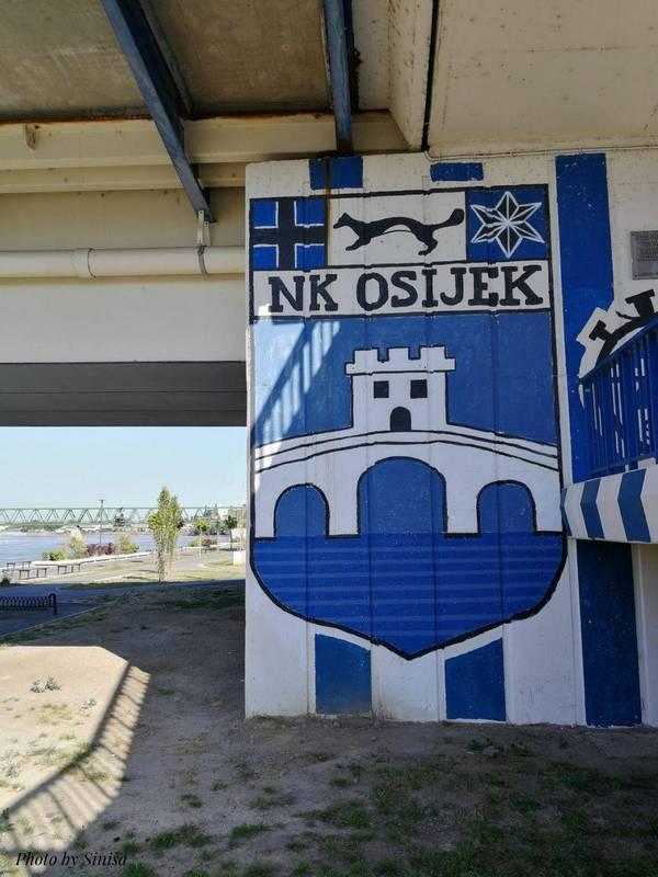 Sretan rođendan NK Osijek!  Foto: Siniša Vraneš  Ključne riječi: Nogometni klub Rodendan Most