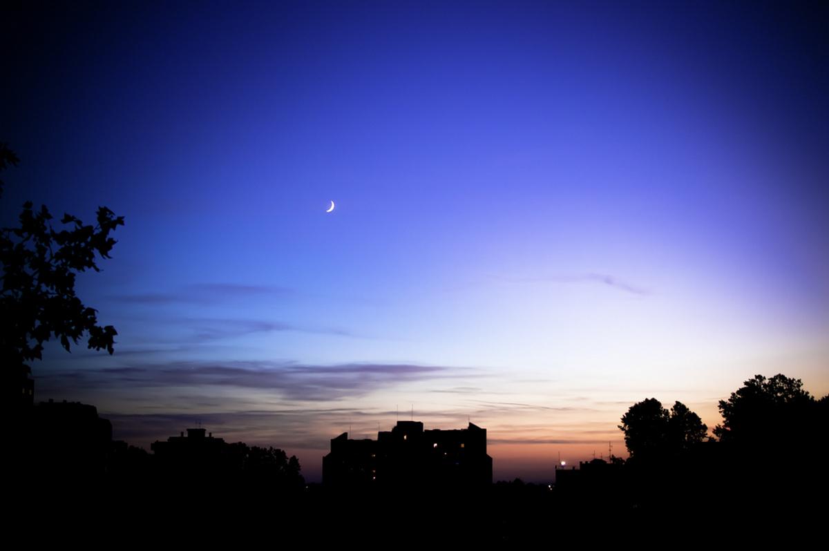 Laku noć.  Foto: Andrea Perković  Ključne riječi: Noć Mjesec