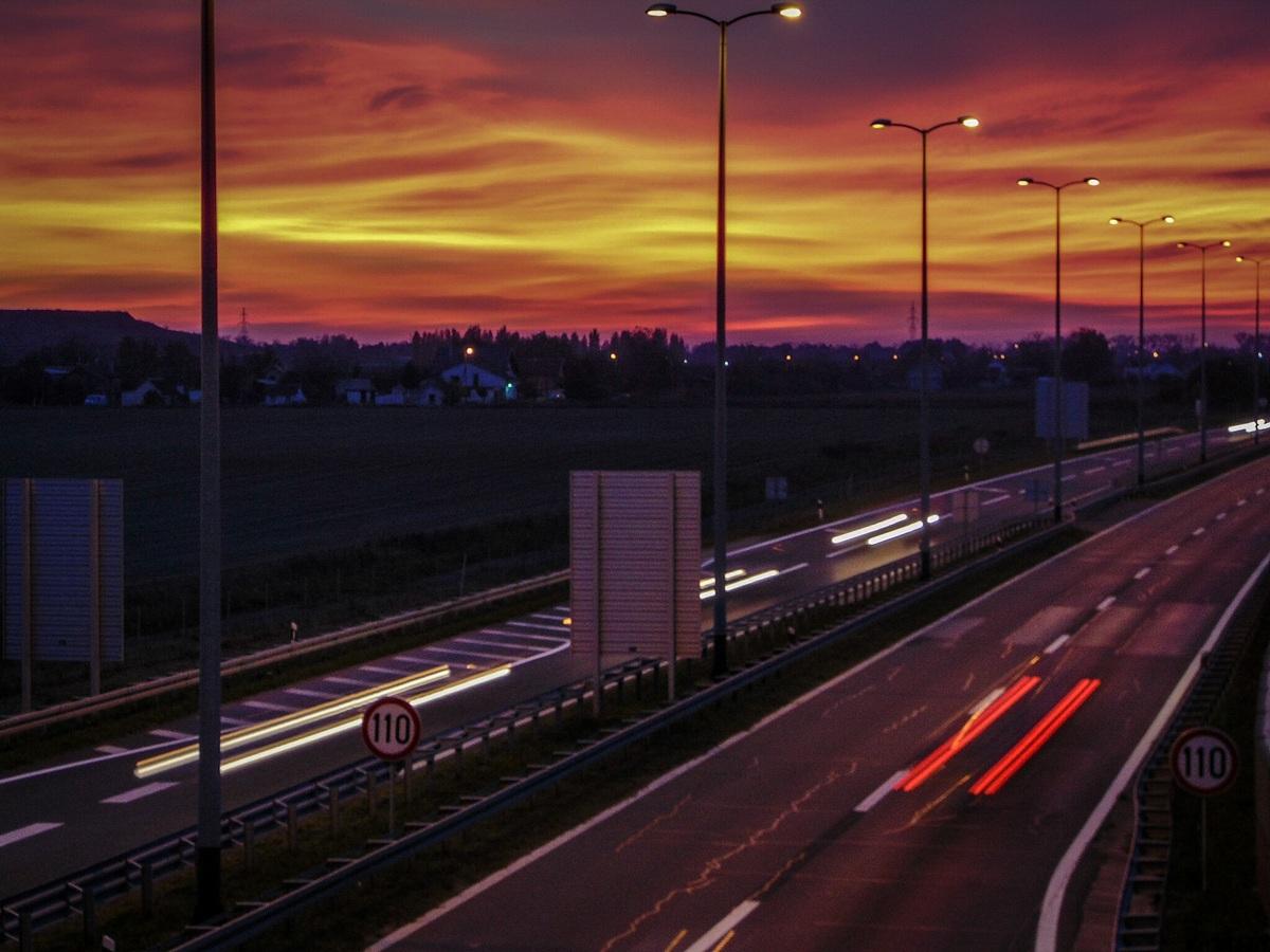 Prometna noć  Foto: Marina Hunjadi  Ključne riječi: Noc Promet Cesta