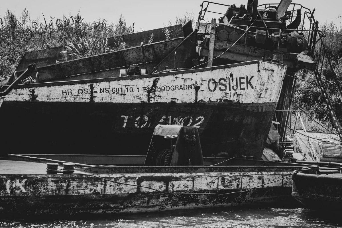 Osijek  Foto: Bojan Mihevc  Ključne riječi: Brod Drava BW