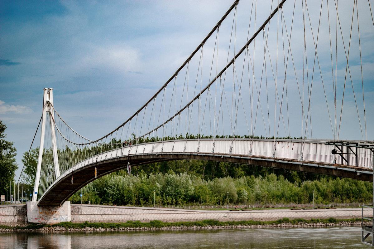 Most  Foto: Ana Nikolić  Ključne riječi: Most Drava Pogled Priroda