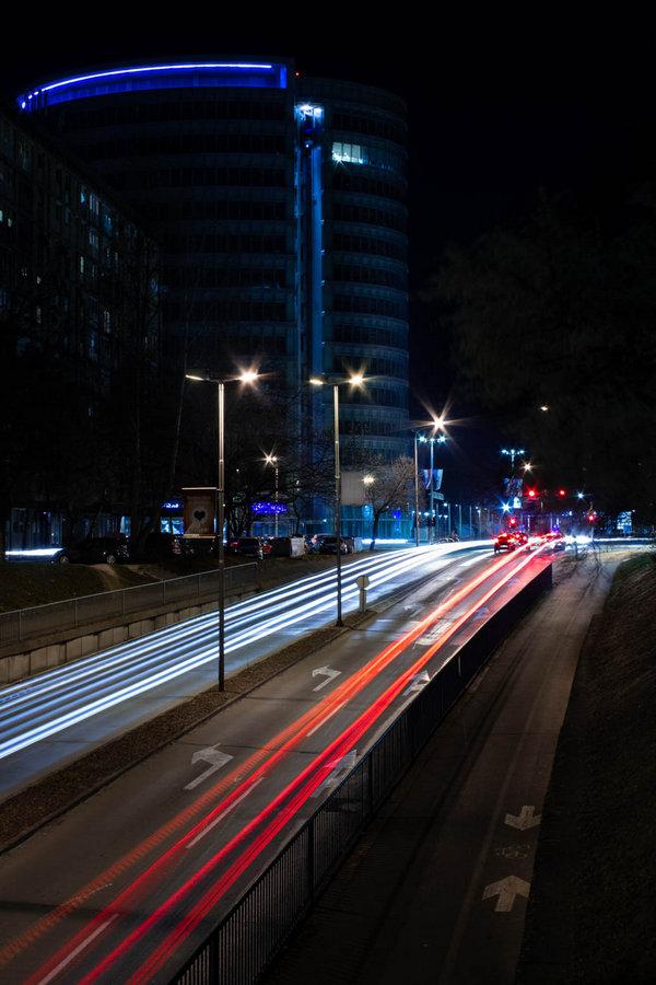 Prometno  Foto: Matej Jugović  Ključne riječi: Promet Eurodom Vecer