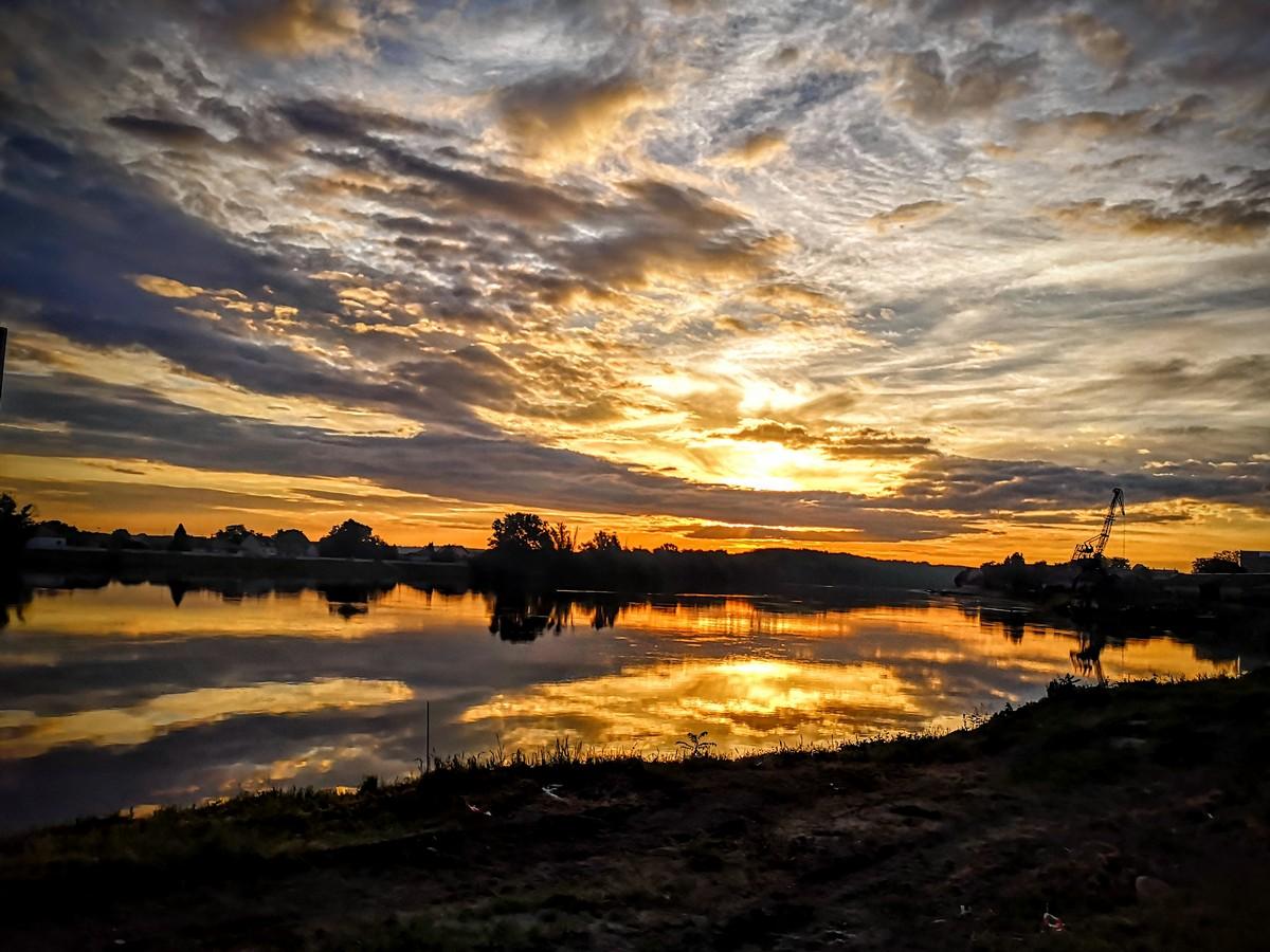 Zlatno nebo  Foto: Jakov Matković  Ključne riječi: Nebo Priroda Oblaci