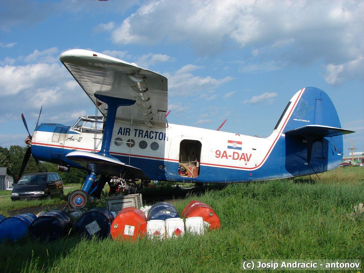 Antonov An-2 ,9A-DAV (Mosquito Killer)