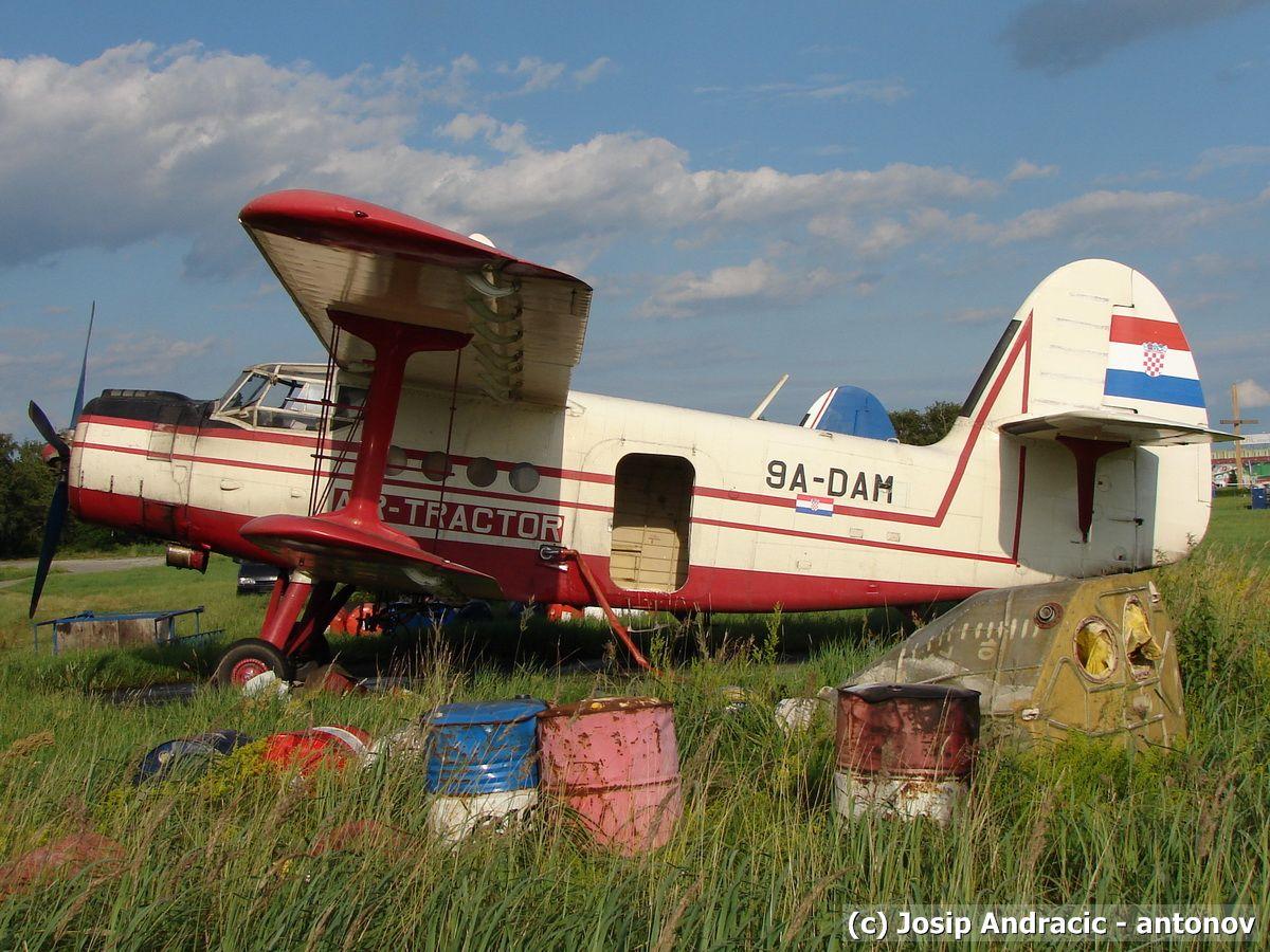 Antonov An-2 ,9A-DAM (Mosquito Killer)