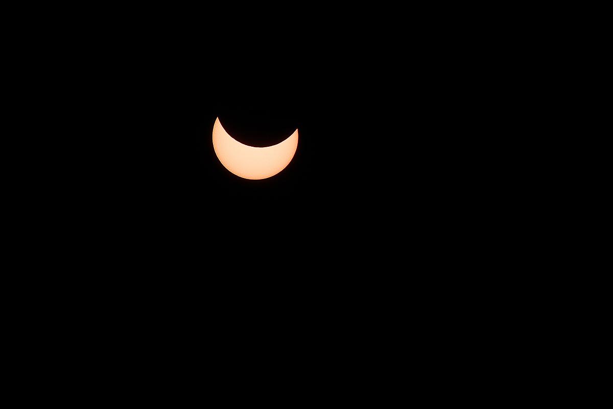Pomrčina  Foto: Tomislav Vukić  Ključne riječi: pomrcina sunce mjesec 2015 ozujak