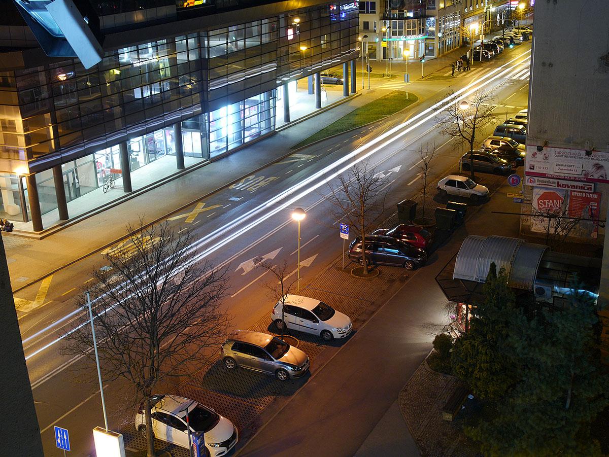 Ulica Republike po noći  Foto: Damir Brođanac  Ključne riječi: ulica republike noc