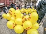 [FOTO i VIDEO] 5G Global protest day u Osijeku: Tihi rat, nečujno oružje!